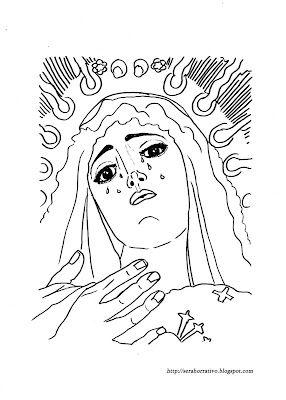 Dibujos Para Colorear De Semana Santa Semana Santa