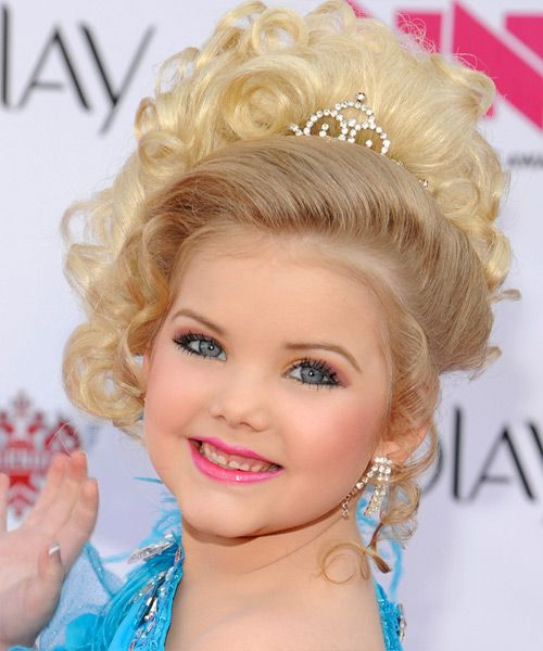 They Grow Up Fast Beauty Pageant Hairstyles for Little Girls ...