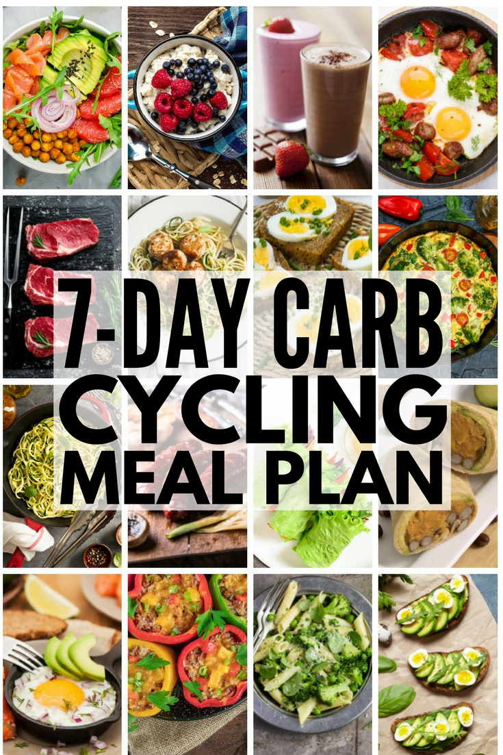 Carb Cycling for Weight Loss: 7-Day Carb Cycling Meal Plan ...
