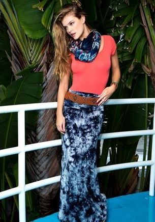 dc6a007cfc awesome tie dye maxi skirt! cute with a white tube top