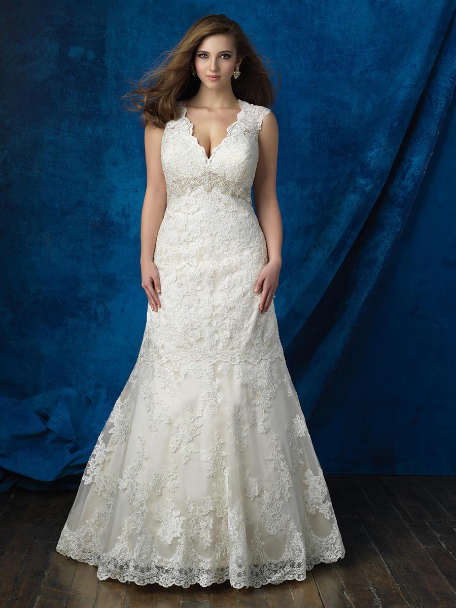 Allure Bridal Women Wedding Dresses Allure Bridal Women Size Colleciton W386 Ella Park Bridal Allure Wedding Dresses Dresses For Apple Shape Womens Wedding Dresses [ 1200 x 899 Pixel ]