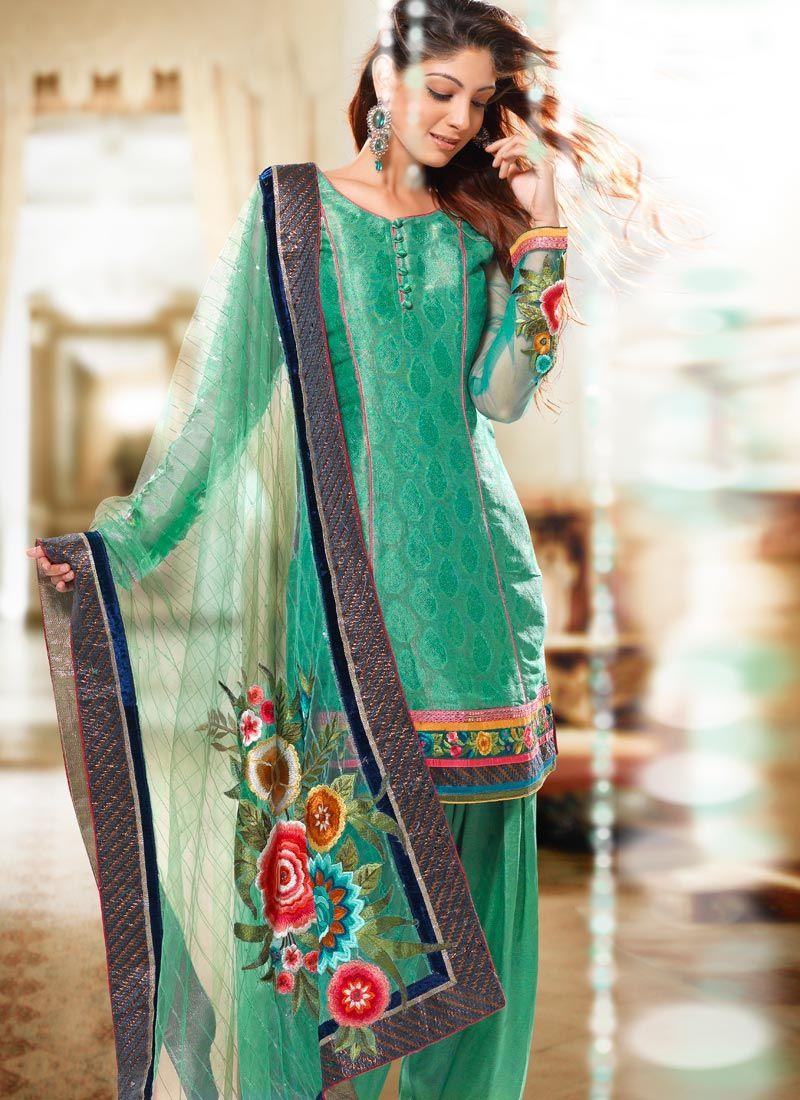 New Patiala Salwar Kameez 2017 Designs For Pakistani Girls - Sari ...