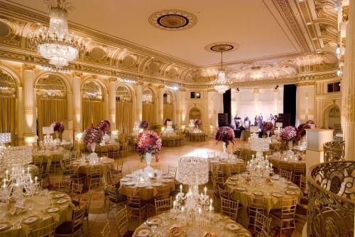 Wedding Reception Grand Ballroom The Plaza Nyc