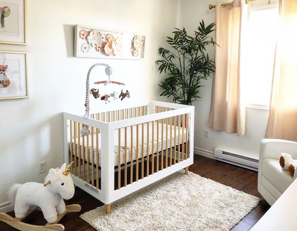 Sunny Spot Babyletto Lolly Crib Nursery Designed By