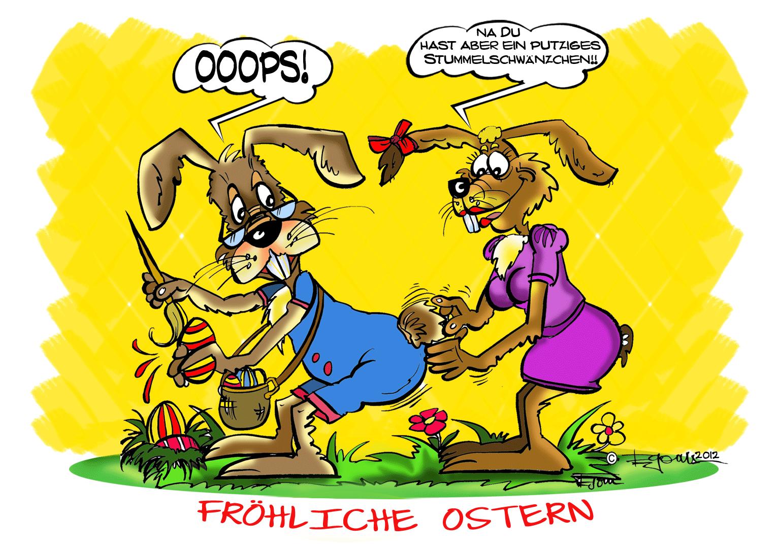 Witzige Ostergrüße Bilder 2021