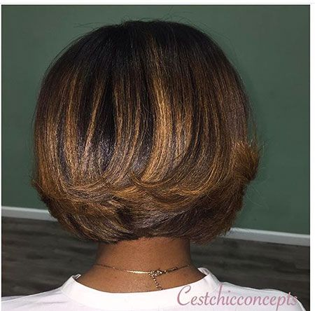 Layered African American Hair #africanamericanhair