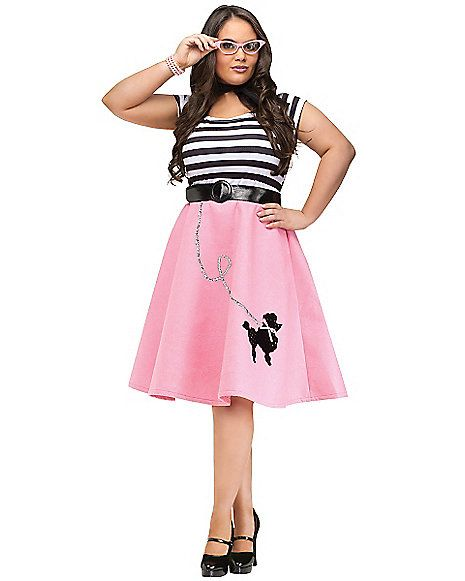 Adult Soda Shop Sweetie Plus Size Costume Costumes, Amazing - halloween costume ideas plus size