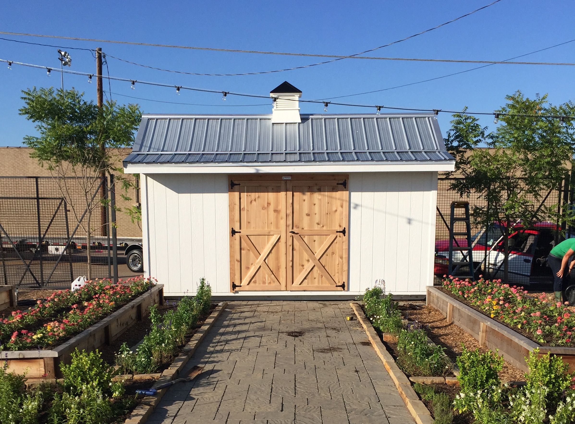 Looking for a storage shed or custom garage turn to the for Garden shed fixer upper
