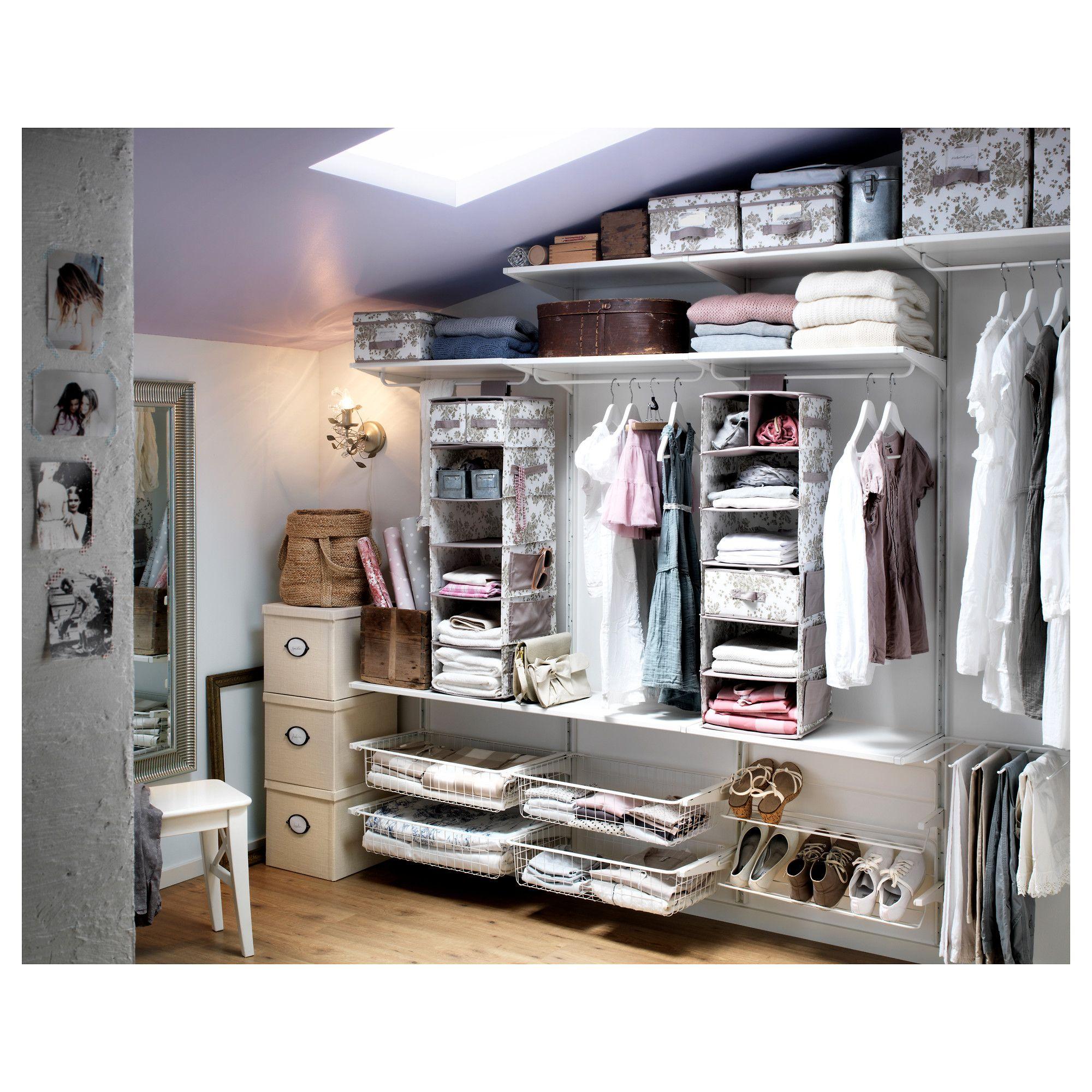 Cabina Armadio Ikea Algot.Algot Ikea Storage System In Closet Ripostiglio A Muro Idee