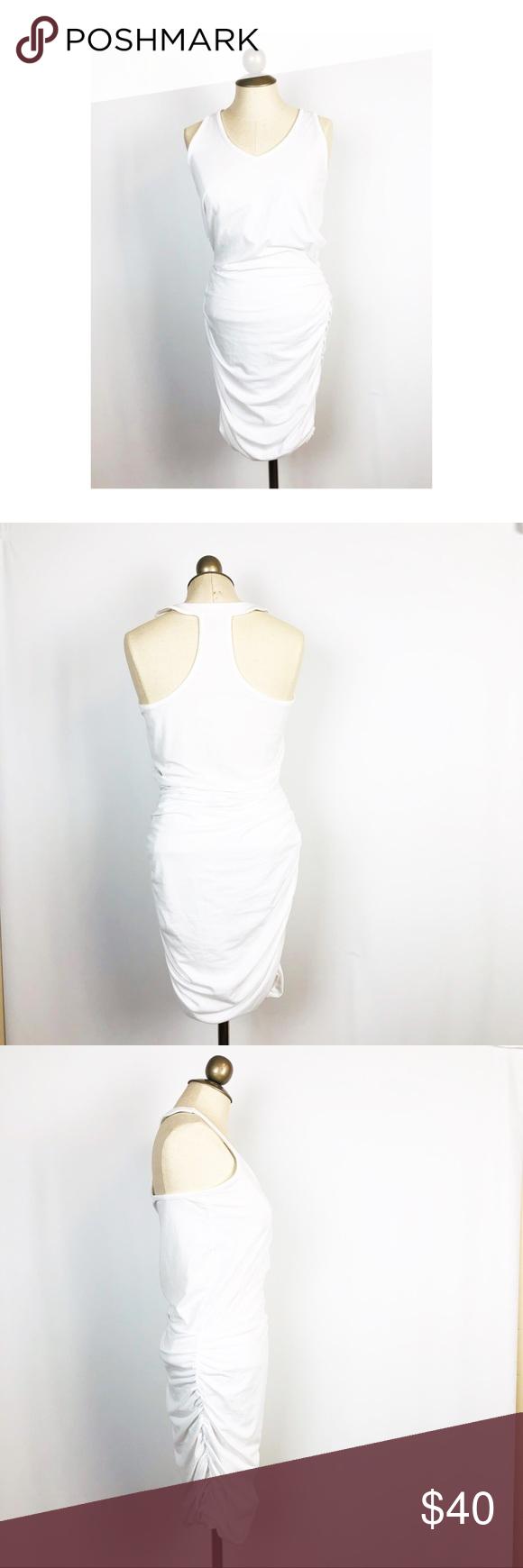 Athleta White Racerback Gathered Active Dress Athleta Active Stretch White Racerback V Neck Dress Soft And Stretchy Enough For Dresses Daytime Dresses Athleta [ 1740 x 580 Pixel ]