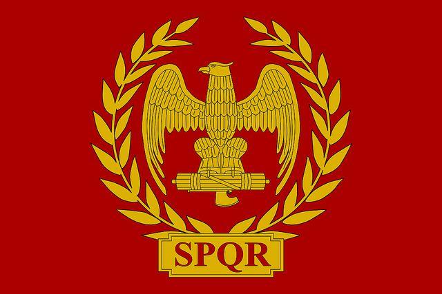 Flag Of The Roman Empire Roman Empire Roman History Historical Flags