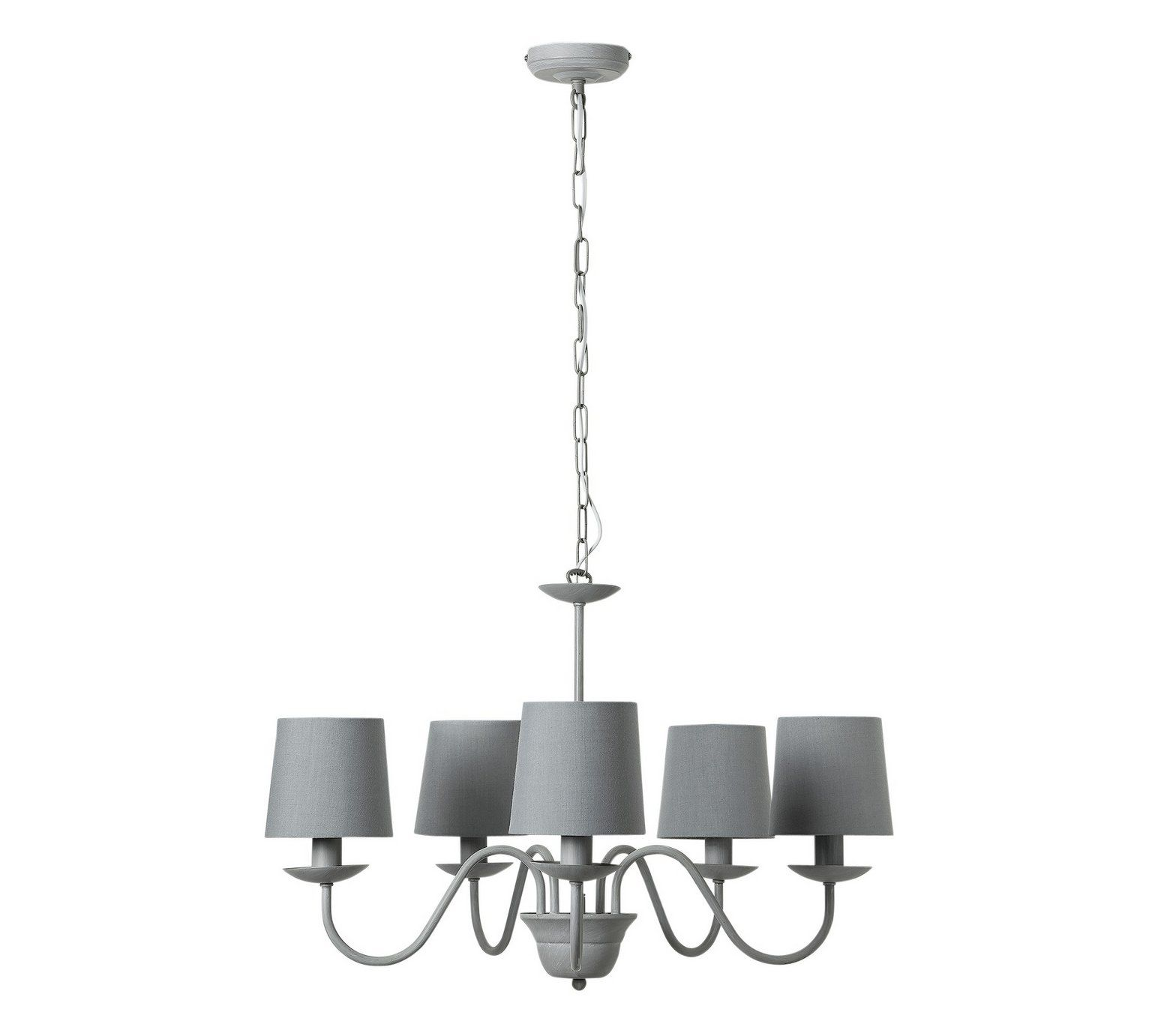 Heart Of House Aster 5 Light Chandelier Ceiling Grey At Argos Co