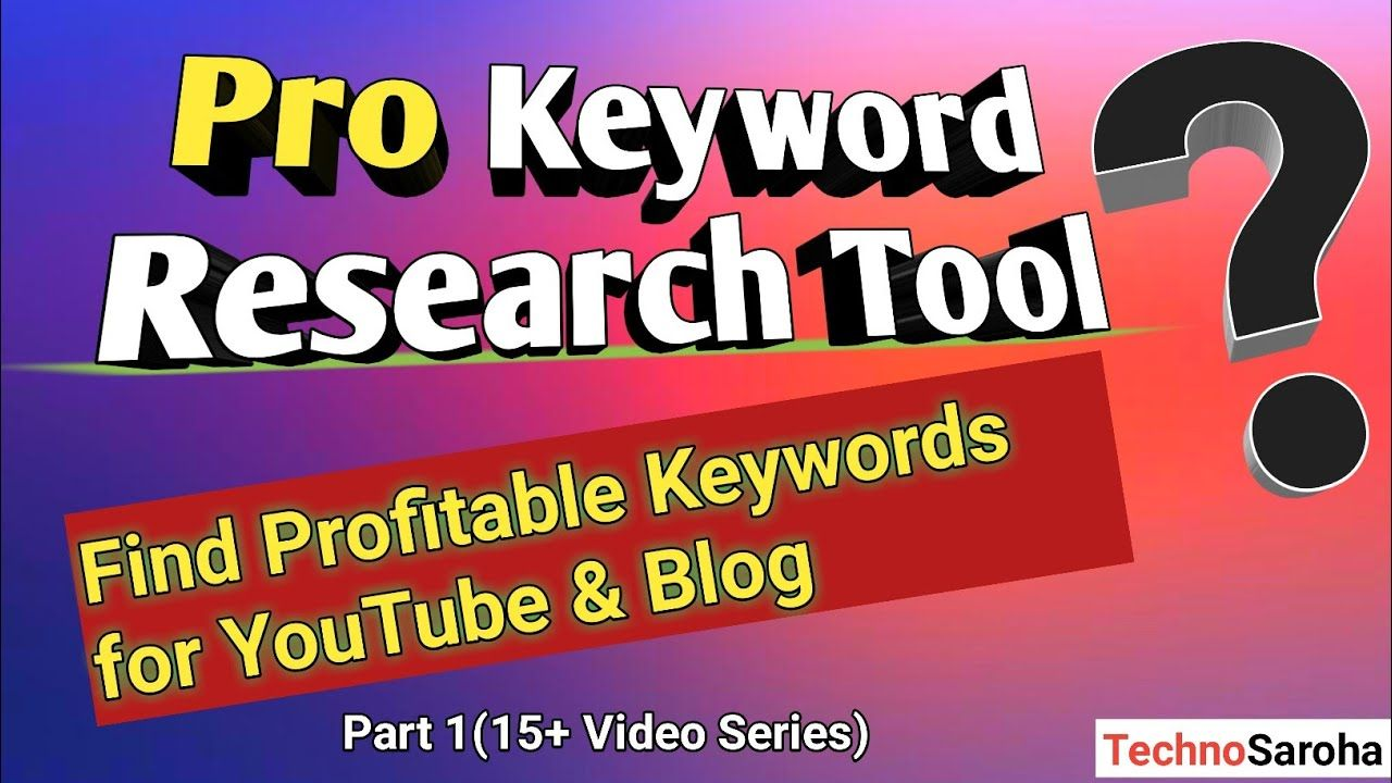 {2019} Best Free Keyword Research ToolEasy to use For