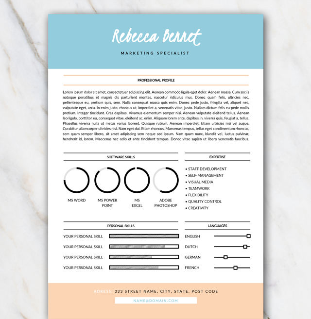 Free Resume Template In Word Download The Template Install The