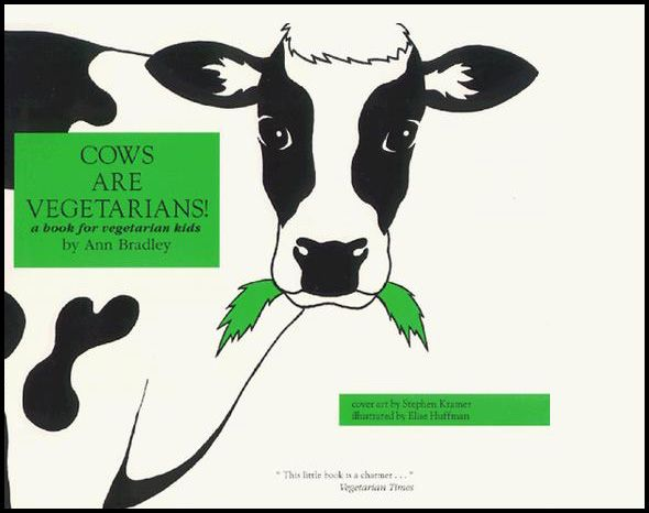 This reader friendly, earth friendly book explains the positive changes that vegetarians kids make. On our list!