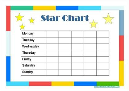 Star charts for kids anger managment adhd copping skills camt 2