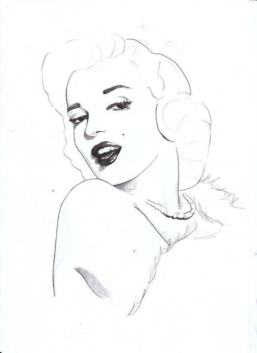 """""""Marilyn Monroe"""" by Sarah Hankinson"""