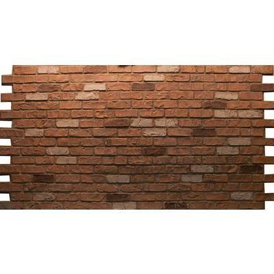 Urestone Professional Series Aged Brick Panel 4x8 Dp 2400 48
