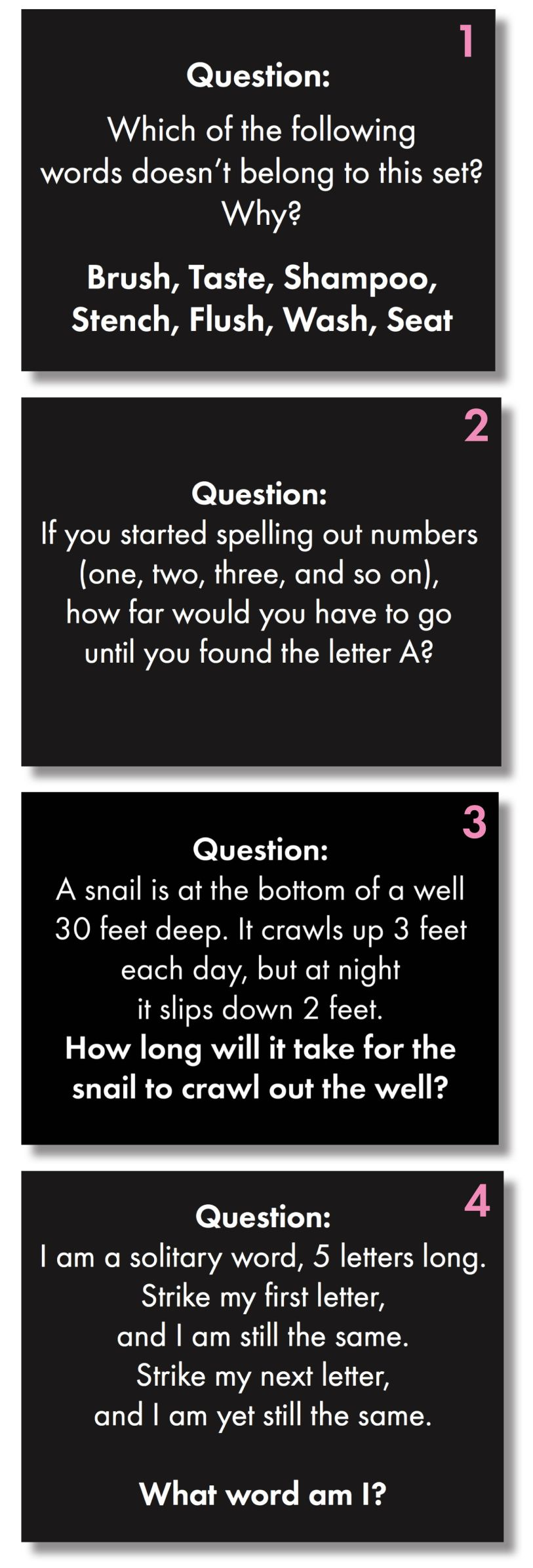 Time To Add Some Challenging Fun To Your Classroom Routine With Brain  Teasers For Teens!