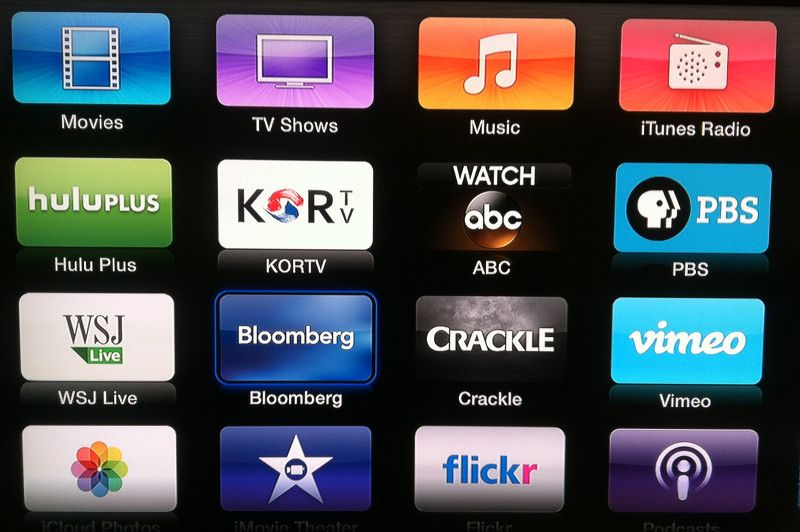 Apple Tv Adds Bloomberg Abc Crackle And Kortv Page 1 Apple Tv Abc Tv Show Music