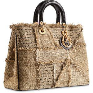 "DIORISSIMO Small smooth clover leather ""Diorissimo"" bag"