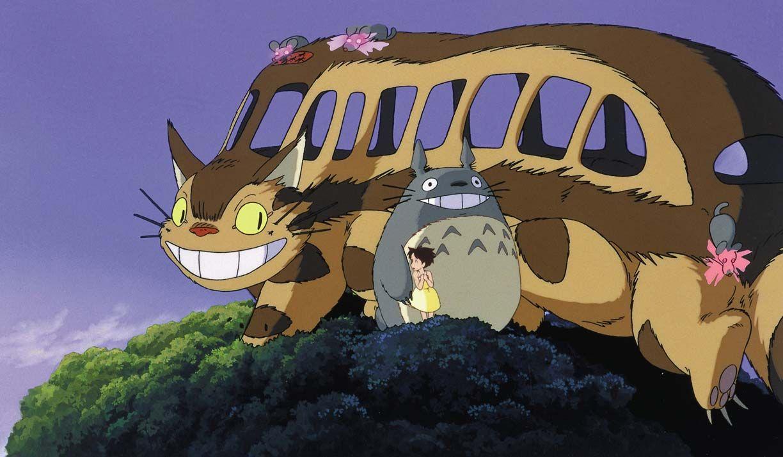 Totoro トトロ ネコバス イラスト 作画