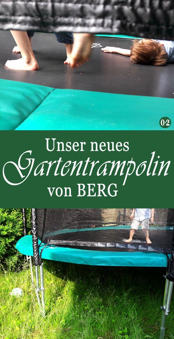 Null Zwo Auf Einem Weiteren Kanal Gartentrampolin Rutsche Garten Berg Trampolin