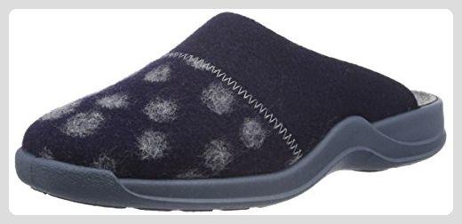 Rohde Vaasa-D, Damen Pantoffeln, Blau (Ocean 56), 40 EU - Hausschuhe ... 7abb285ed6