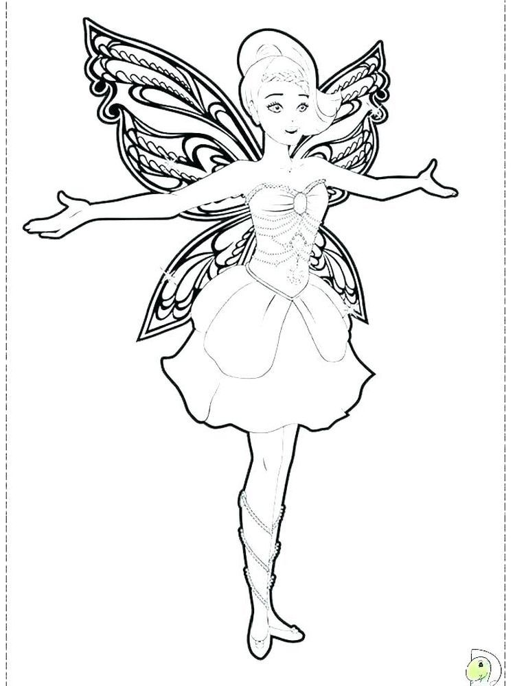 Free Printable Barbie Fairy Coloring Pages Fairy Coloring Pages Barbie Coloring Pages Princess Coloring Pages