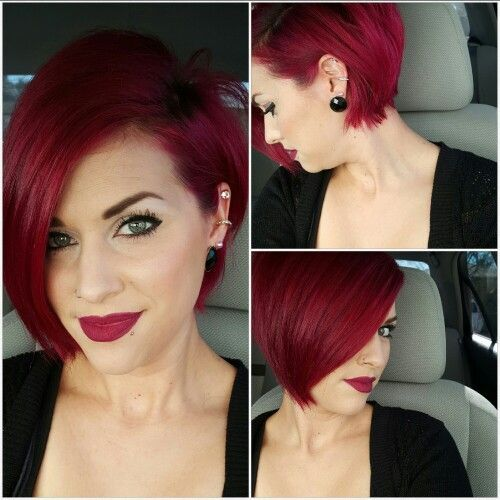 9 Bomb Burgundy Hair Ideas Because Deep Red is the