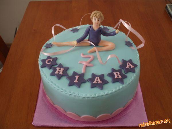 Torta Gymnastka Hľadat Googlom Detske Torty Cake Birthday