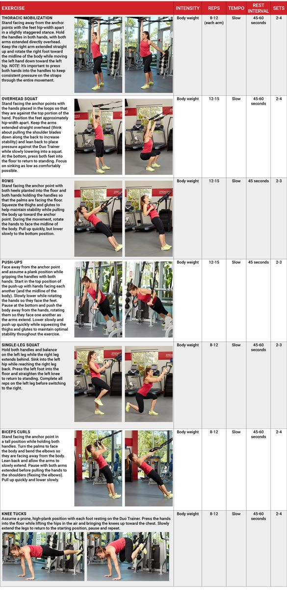 ACE - Certified: July 2017 - The Latest Tools of the Trade: TRX Duo ...