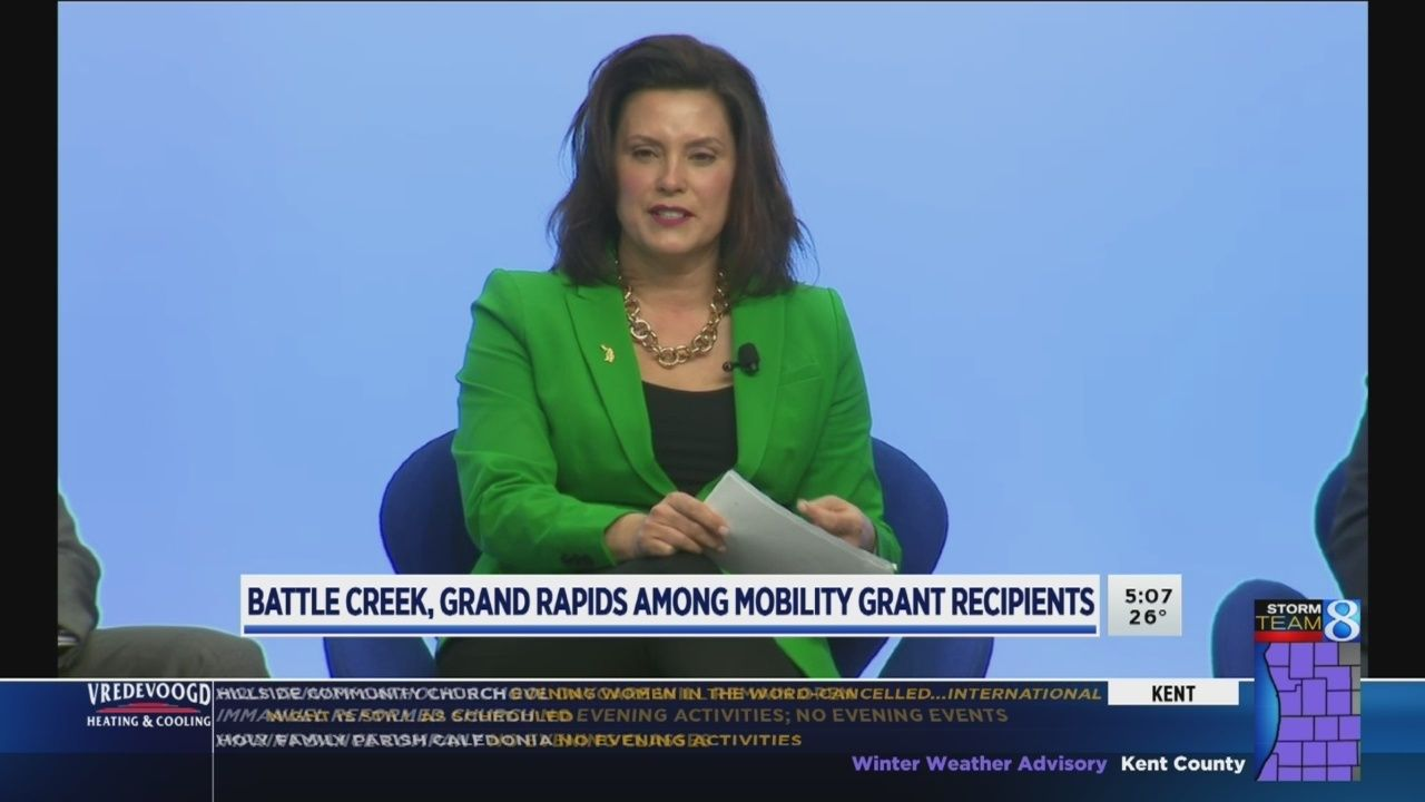 Battle Creek Grand Rapids Among Mobility Grant Recipients