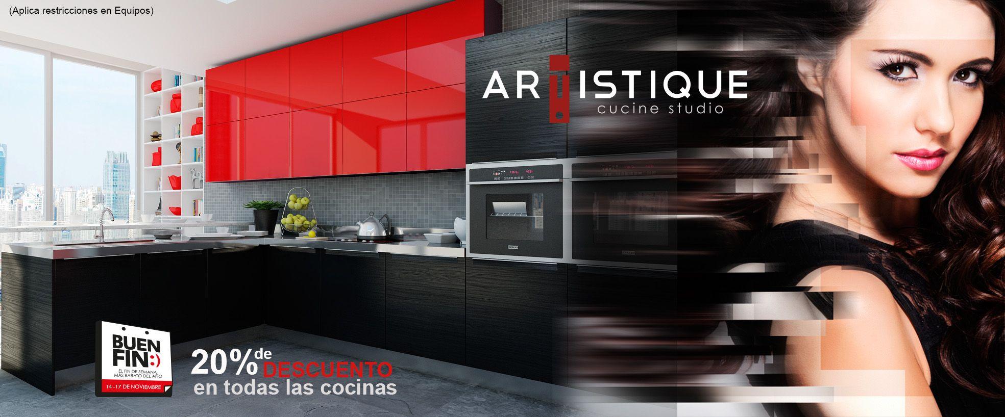 Este buen fin todas las cocinas artistique al 20 de for Cocinas integrales buen fin