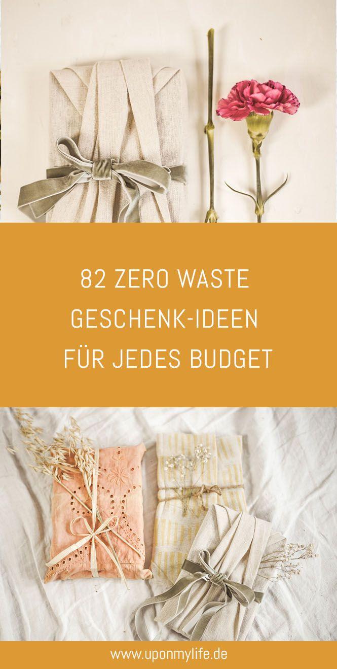 82 Zero Waste Geschenk-Ideen für jedes Budget - Uponmylife