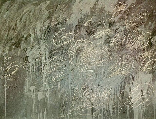 Cy Twombly from: http://justanothermasterpiece.tumblr.com/post/57203736564/cy-twombly