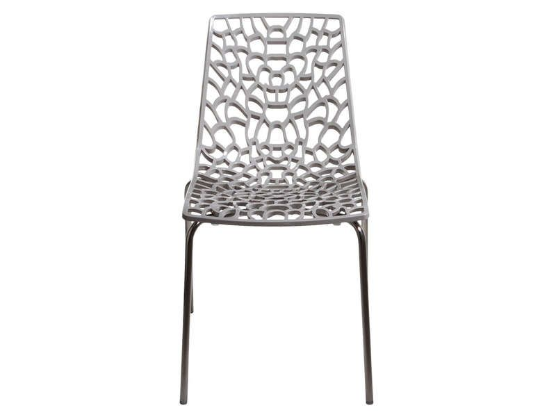 Chaise GROOVE 2 Coloris Gris