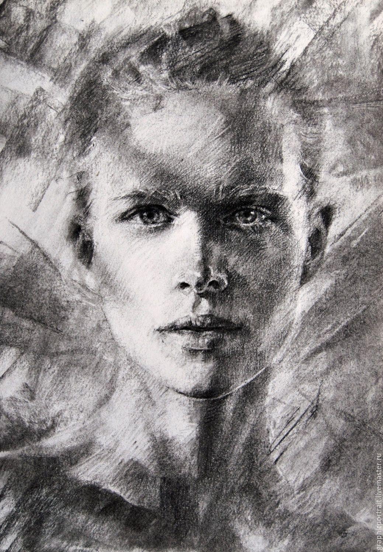 острую портрет с фото углем на заказ интересовала каждая
