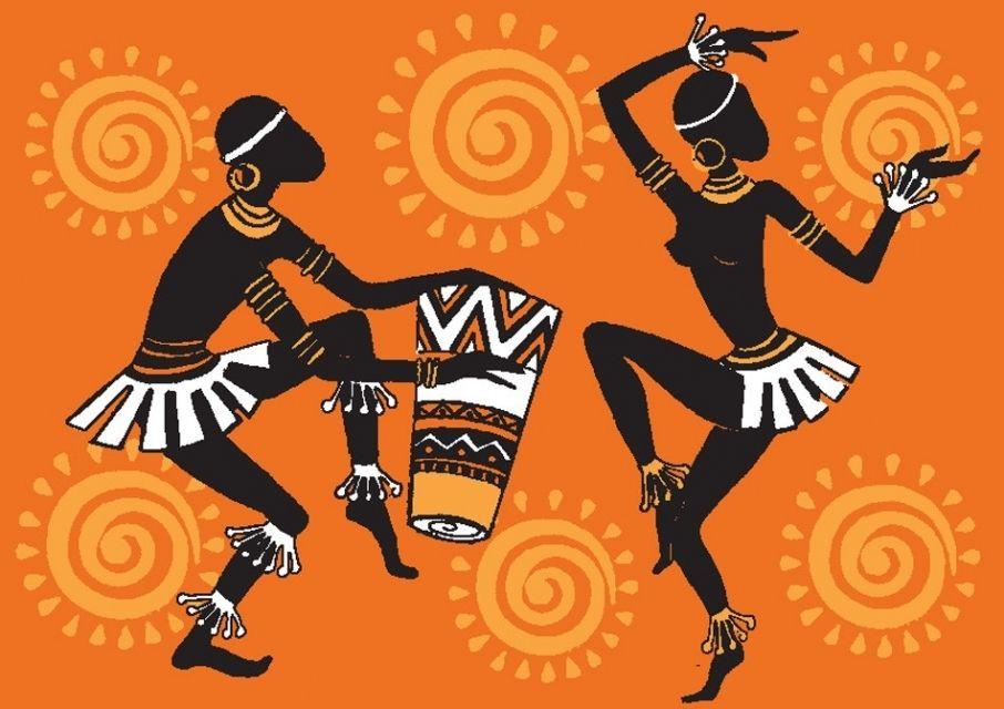 африканский танец рисунок: 10 тыс изображений найдено в ...