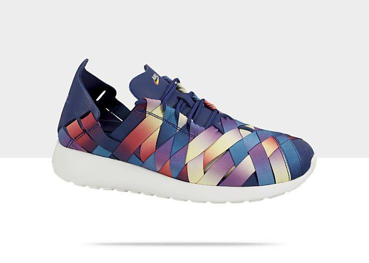 148ac2b7b7b7 Nike Roshe Run Woven Premium Womens Shoe I loved them!