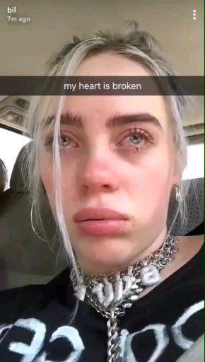 Photo of Billie, mi corazón se rompió tan pronto como te vi llorar