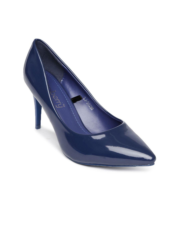 ac09aa0b95ce DressBerry Women Blue Heels  looksgud  DressBerry  Blue