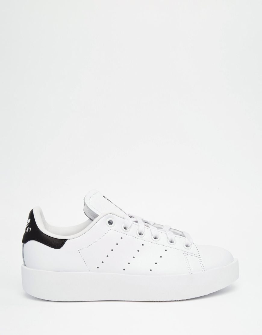 online store 3bfcc 986ee adidas Originals Stan Smith Bold Double Sole Sneakers