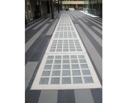 Fire rated glass block paving glass block roof for Glass block floor