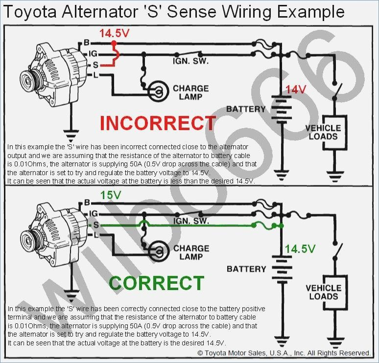 General Electric Voltage Regulator Wiring Diagram In 2020 Alternator Denso Alternator Toyota