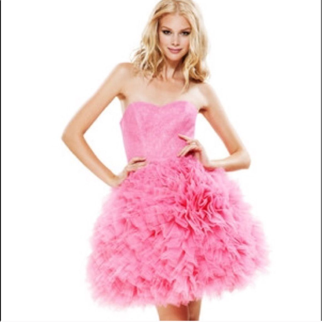 Betsy Johnson Pink Tulle Dress Glinda Wicked