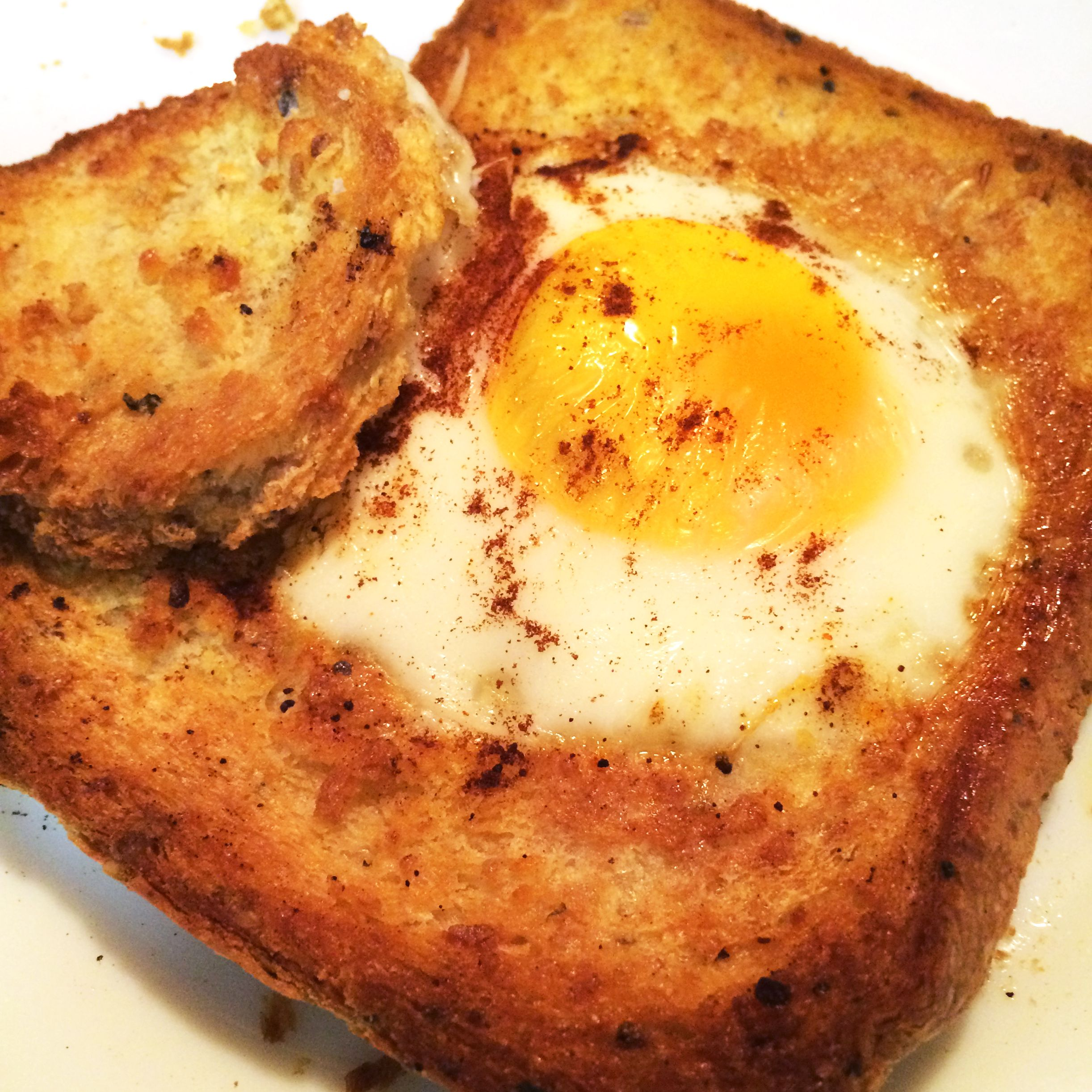Bachelors Egg 'in' toast Recipe Air fryer recipes