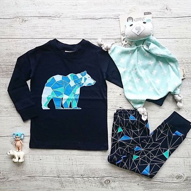 Loving these Astro pyjamas by Milky....super cute winter pyjamas ready for this…