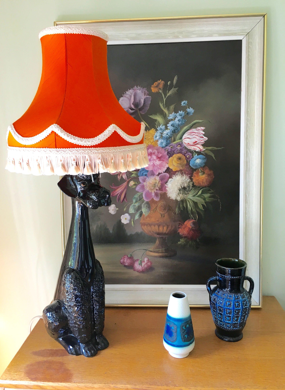 Vintage jemma holland large black poodle figure lamp dog table vintage jemma holland large black poodle figure lamp dog table light 1950s by arthurstreasurechest on etsy geotapseo Images