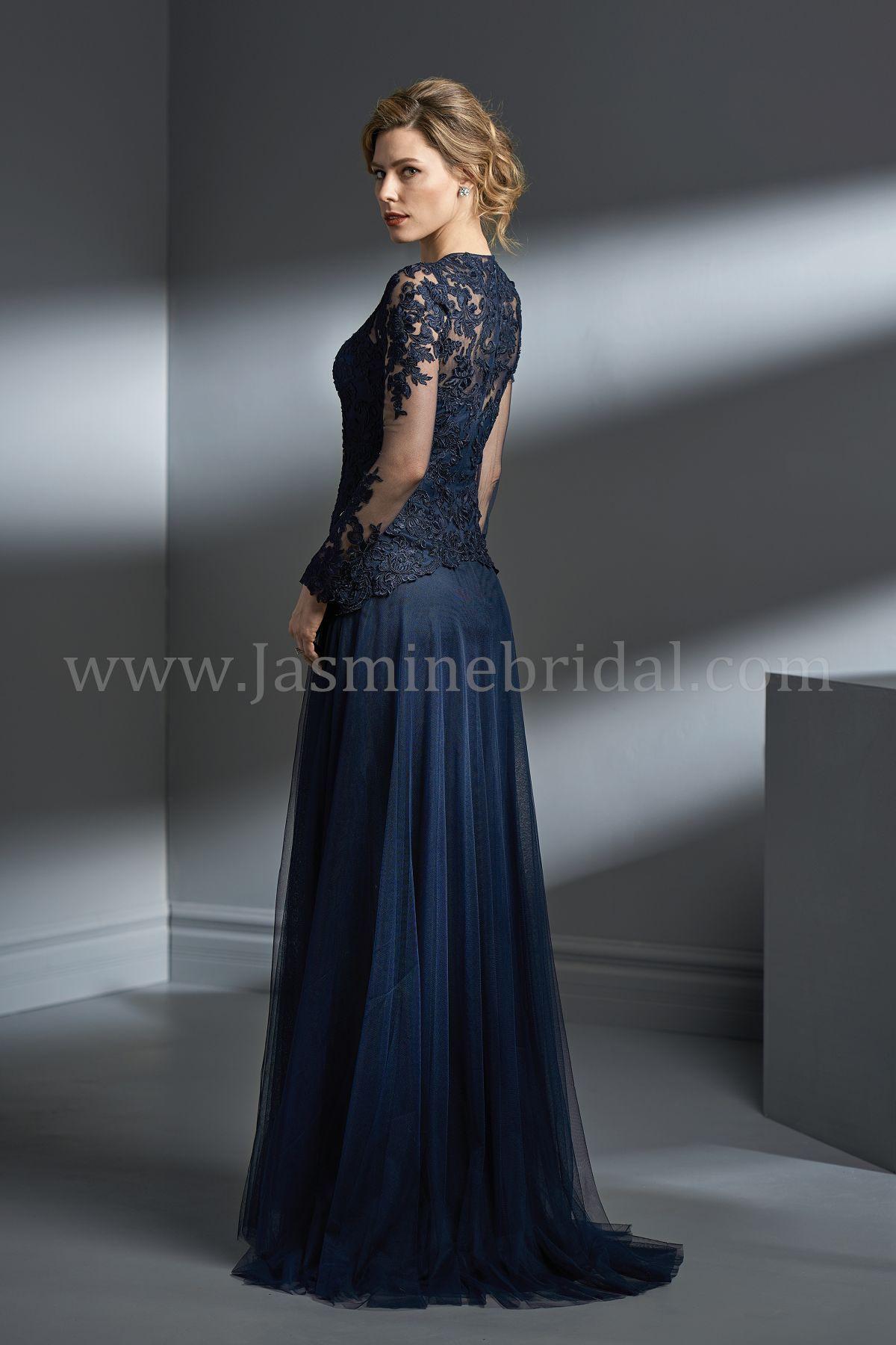 e40e19702f Jade Couture K188003 Purple Mother Of The Bride Dress .
